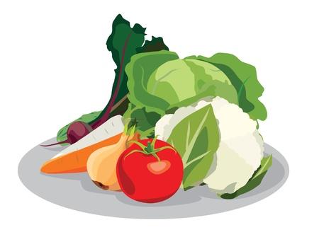vegetables  Ilustração