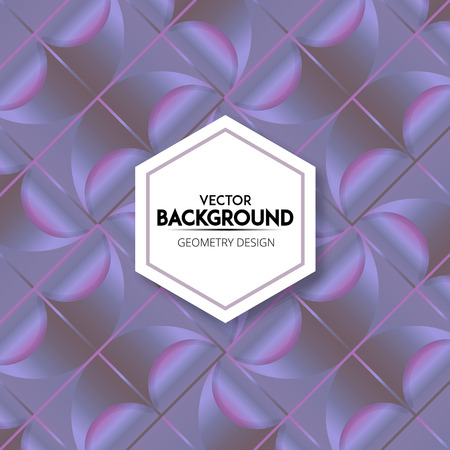 Abstract background panels pattern design