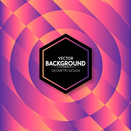 Creative colorful abstract geometric background design.
