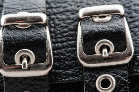 sadomasochism: fasteners handcuffs close-up
