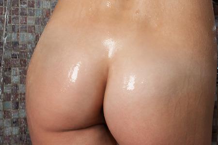 sexualidad: Mujer culo mojado