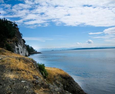 puget: San juan Island looking to the puget sound
