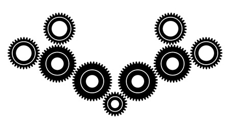 Gear wheels for transmiting power and motion between rotating shafts