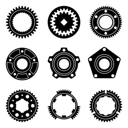 Synchronize ring, gear wheel, wheel hub assembly.