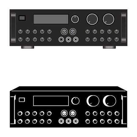 Mixing amplifier. Integrated mixer amplifier.