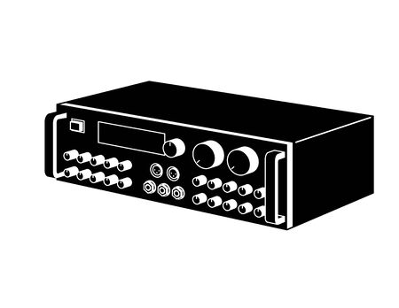 Digital mixing amplifier. Illusztráció