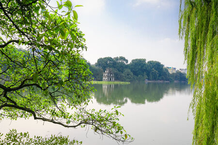 Hoan Kiem Lake, Ha Noi, Vietnam