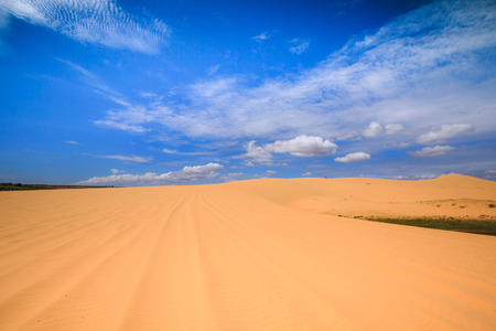 Sand hills in Phan Thiet-VietNam photo