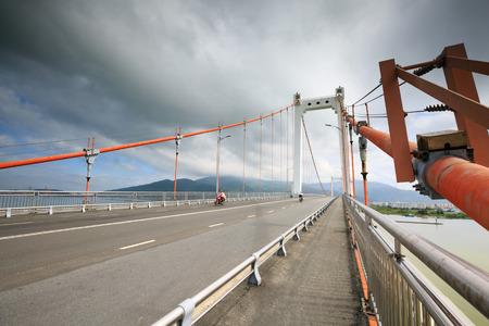 cable-stayed bridge photo