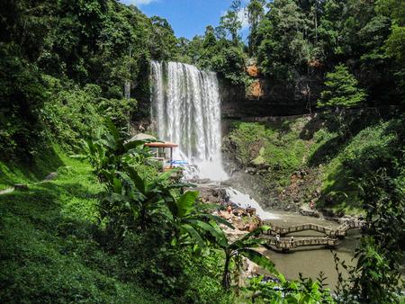 lat: Prenn Waterfall. Da lat. Vietnam