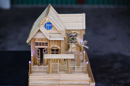 dollhouse: Model house