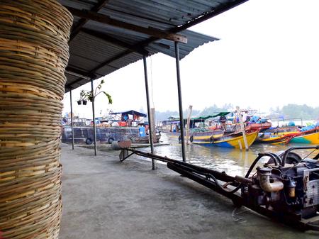 cai rang: Cai Rang floating market, Can Tho, Vietnam