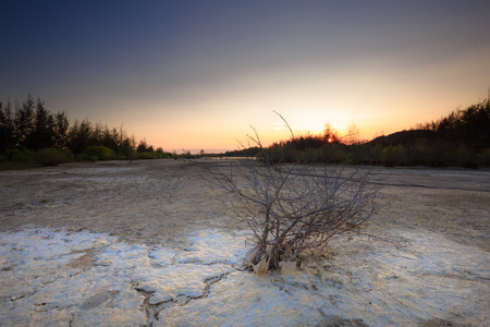 salinity: Wilderness areas to soil salinity in waters with Ho Coc