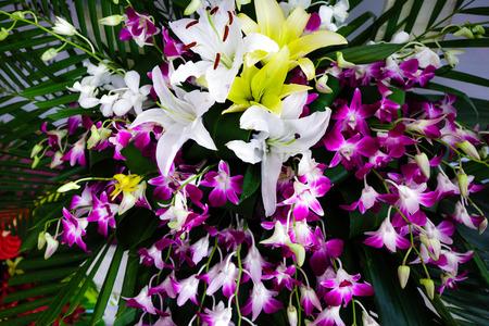 bloemenhulde voor een geliefde