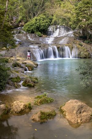 Dang Mo waterfall in Lang Son province, Vietnam