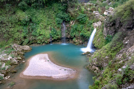 Chieng Khoa Waterfall, located in Chieng Khoa Commune, Van Ho District, Son La Province, is one of the ideal destinations for those who want to explor