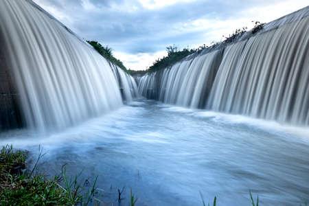 The spillway serves agricultural irrigation in Dak Lak province, Viet Nam. Tourist spots in Dak Lak, Viet Nam