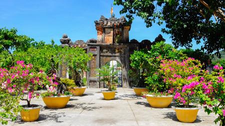 cu: The sunny day in Cu Lao Cham island Stock Photo