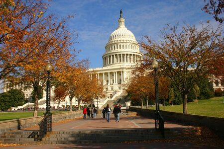 A view of the US congress in the fall