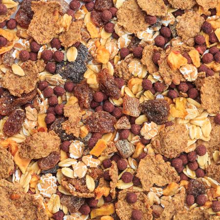 corn flakes: Muesli Stock Photo