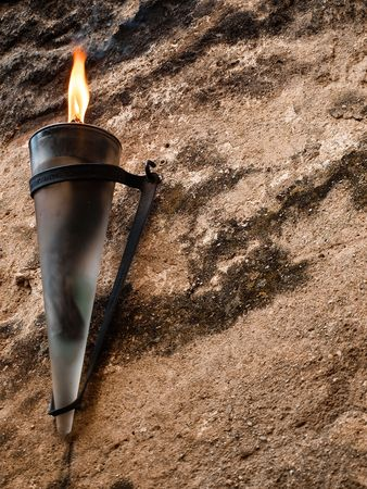 medieval torch