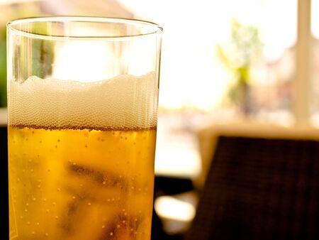 beer glass Stock Photo