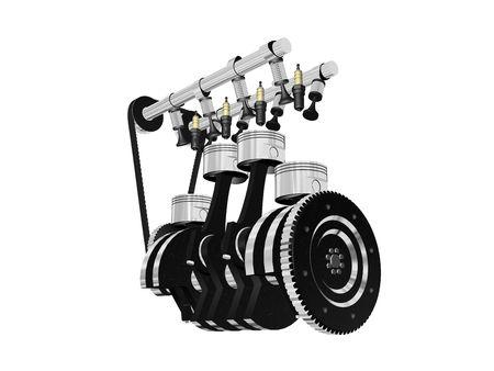 crank: motor claras y grandes, aislado en alta resoluci�n