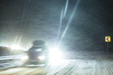 snowing: Snowing