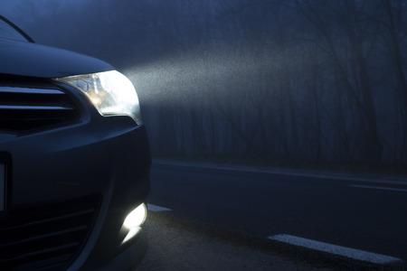 Car Lights Banque d'images