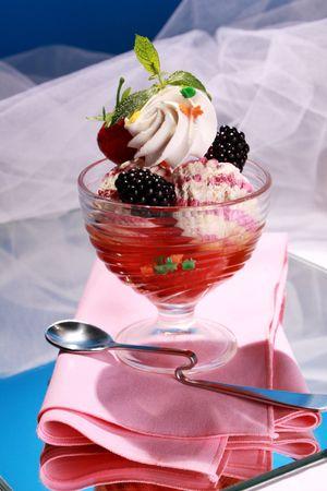 splurge: Colourful frutiy icecream temptation