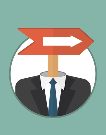 purposeful: Purposeful, Head, manager. It goes to the target.The character of the CEO. Business People icons. Faces avatars. Flat style vector icons set
