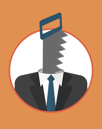 fault: Head, manager finds fault with the team. Always dissatisfied.The character of the CEO. Business People icons. Faces avatars. Flat style vector icons set