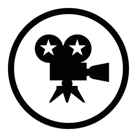 black film award Illustration
