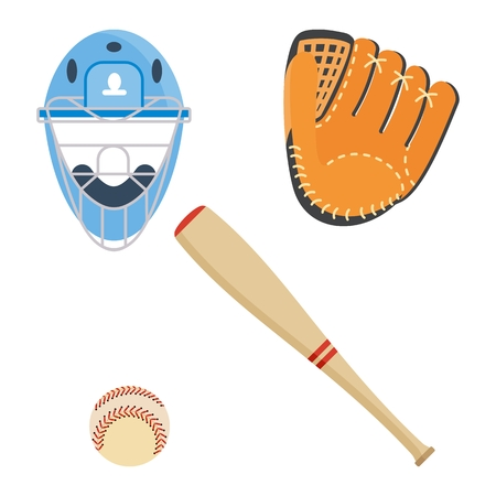 Baseball equipment icon