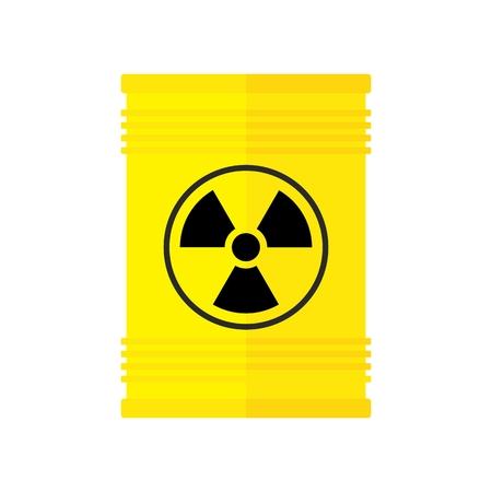 nuclear waste burrel