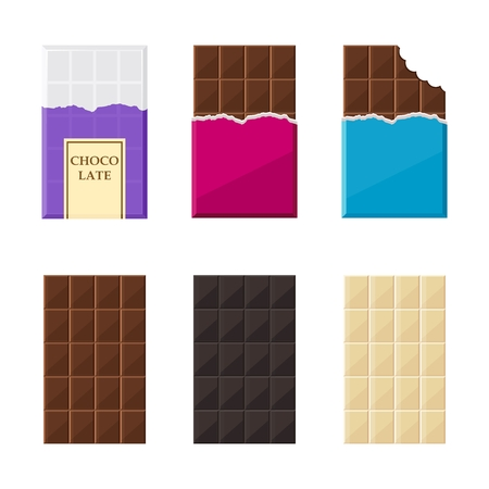 confection: set of chocolate bar
