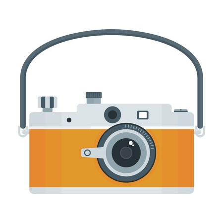 photography backdrop: Flat vector cartoon illustration. Objects isolated on a white background.