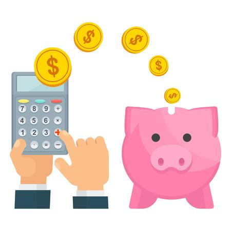 piggy bank business save money
