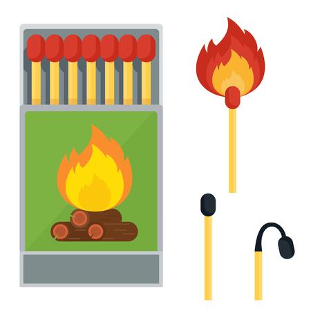 matches set icon Ilustração