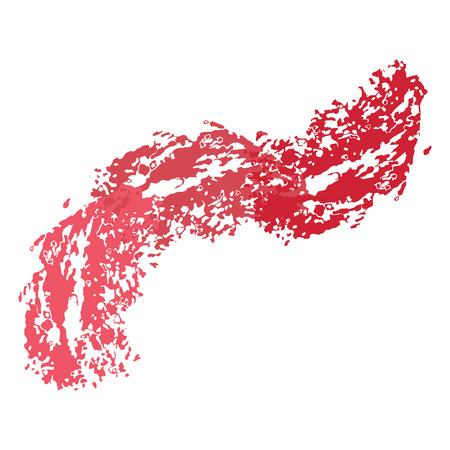 Flat vector cartoon illustration. Objects isolated on white background. Illusztráció
