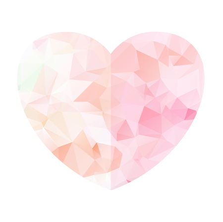 Sweet pink heart gem