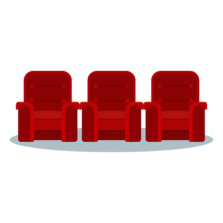 Cinema red chair