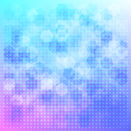 Abstract bright background pattern design Illustration