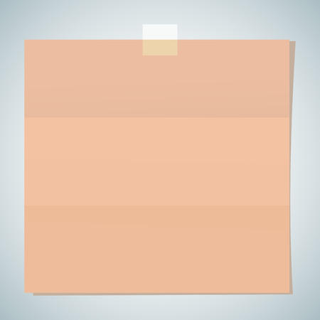 note paper sheet Illustration