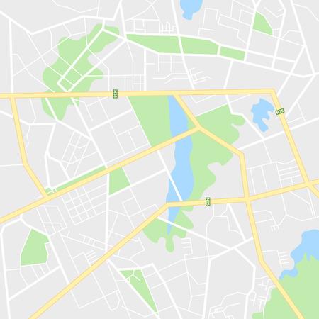 city map navigation illustration.