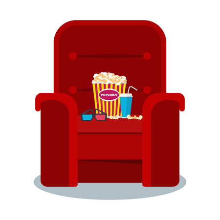 cinema red armchair