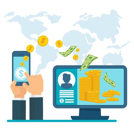 transferencia electrónica de dinero