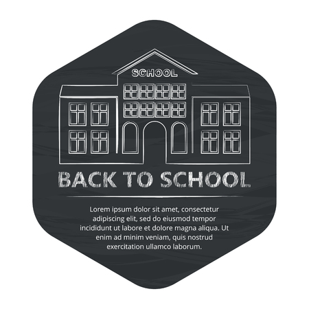 back to school badge