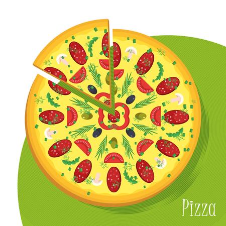 big pizza poster