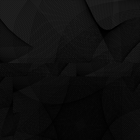 Abstract background with waves lines created using blend tool. Curved wavy line, smooth stripe. Templates for advertising and packaging and other design project. Illustration